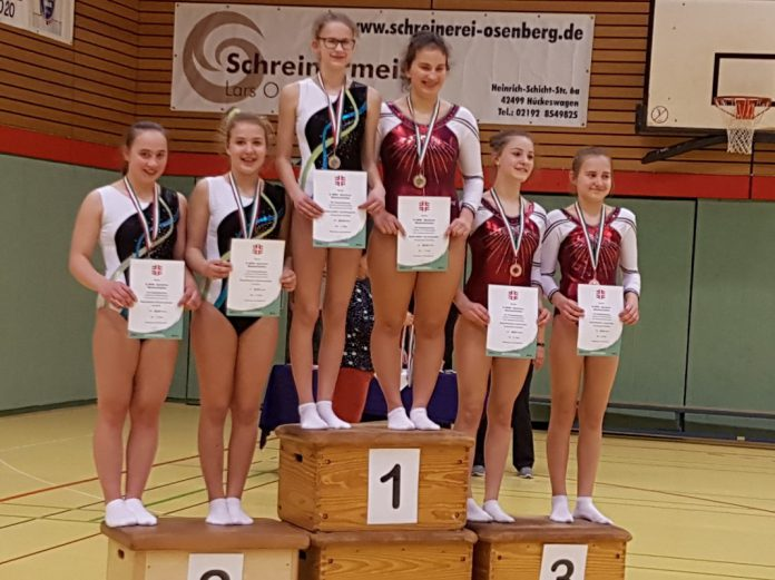 DJKVFL Willich Meistertitel Trampolin